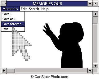 our memories save forever