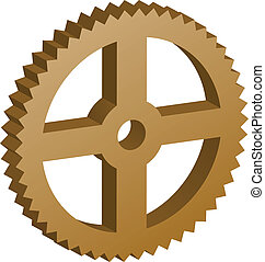 3D vector sprocket
