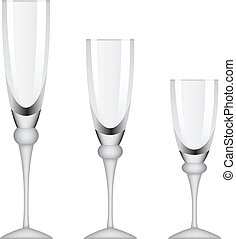 vector wineglasses
