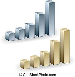 3d metallic graphs