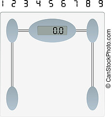 vector weight scale
