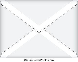 vector white envelope