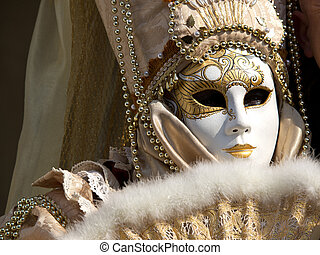 mask 3 - mask on the carnival in Venice