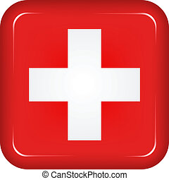 Vector switzerland flag