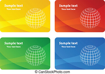 vector business cards
