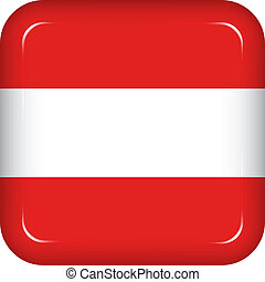Vector austria flag