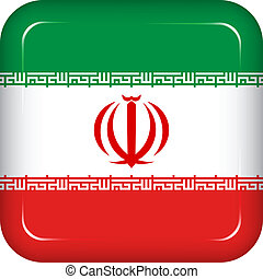 Vector iran flag