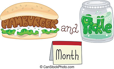 Hamburger and Pickle Month