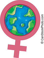 International Womens Month - Illustration Representing...
