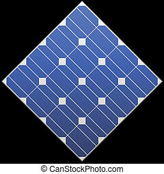 vector photovoltaic panel