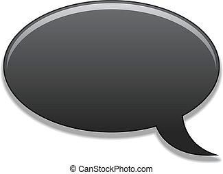 vector speech bubble