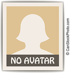 vector female avatar