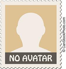 vector male avatar