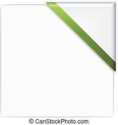 vector paper corner