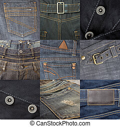 set of jeans 9 in 1