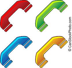 vector telephone receivers