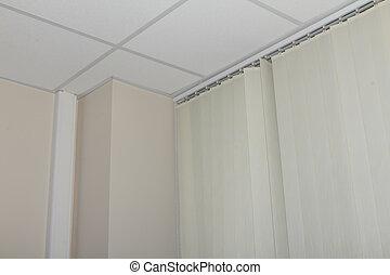 fenêtre, plafond,  jalousie