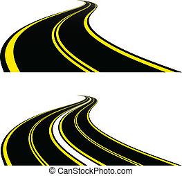vector roads