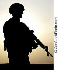 nós, soldado
