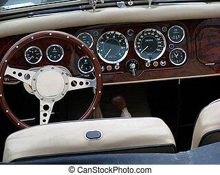 oldtimer - an oldtimer cockpit view...