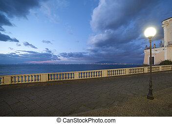Sorrento, Italy. - Evening in Sorrento, Italy.