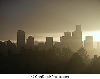 Seattle City at Sunrise