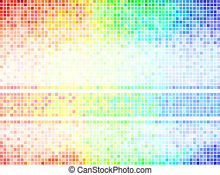 Multicolor abstract tile background. Square pixel mosaic...