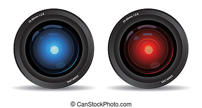camera lens - set of two camera lens