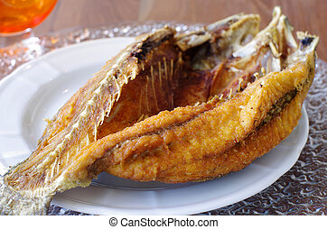Crispy Fried Fish - Clear Lighting of Crispy Fried Fish...