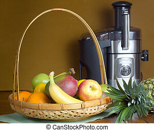 Fruit and Juicer