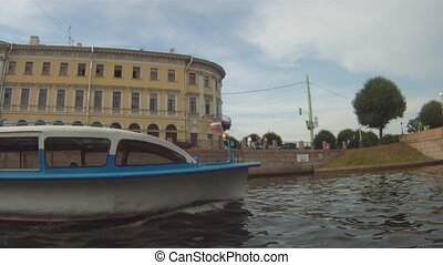 Boat trip on the St. Petersburg GoPro - Russia, St....