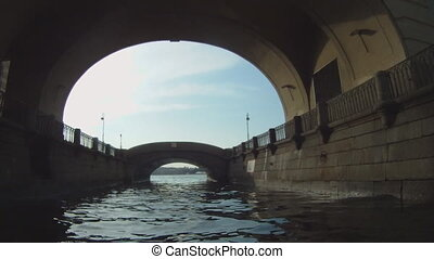 Boat trip on the St. Petersburg GoPro