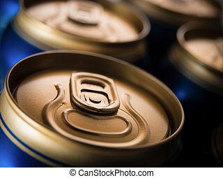 Cerveja, latas