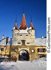 Brasov fortification, Ecaterina Gate, Schei - Ecaterina Gate...
