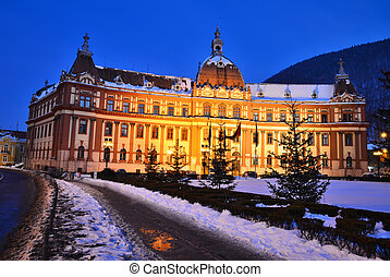Government of Brasov county, Transylvania, Romania -...