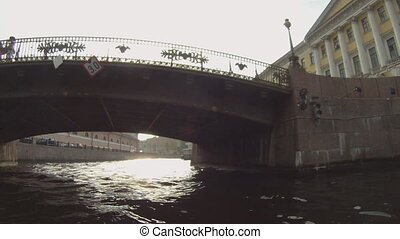 Boat trip on the St Petersburg GoPro - Russia, St...