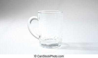 Pure water in small Glass