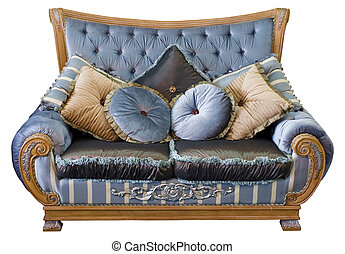 Traditional oriental sofa