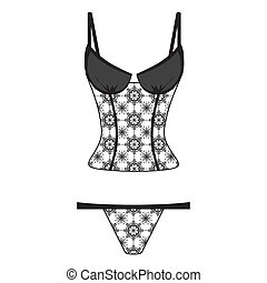 Clip Art Lingerie Clip Art lingerie clip art vector graphics 5733 eps clipart on white background beautiful art