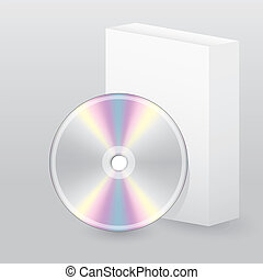 Disc with blank box