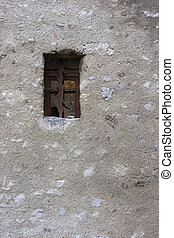 Small window at Village in Grenoble.