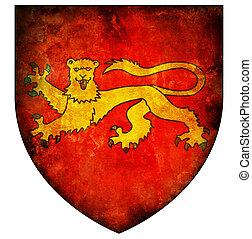 aquitaine coat of arms