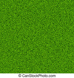 Green grass field. Seamless vector.