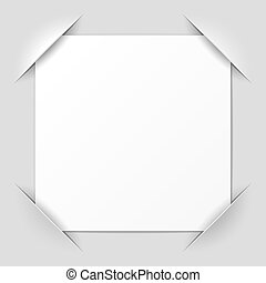 Photo frame corners - Vector illustration of photo frame...