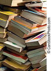 Old books - Large heap of old books