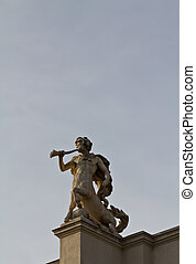 minotauro, escultura