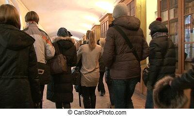 The corridor of the institute