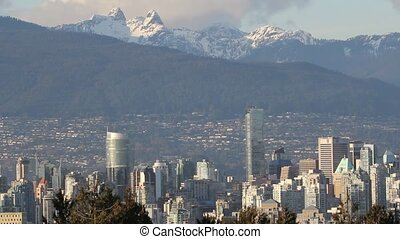 Vancouver Canada Cityscape - Vancouver Canada Skyline and...