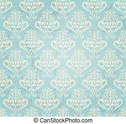 vintage wallpaper - vintage seamless wallpaper in grunge...
