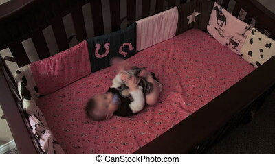 putting a baby to sleep - a peak at a new fathers duty of...